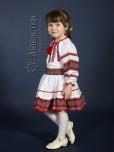 Вишитий костюм для дівчинки ЖК 81-63