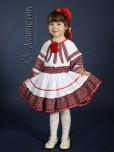 Вишитий костюм для дівчинки ЖК 81-64