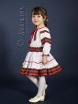 Вишитий костюм для дівчинки ЖК 82-44