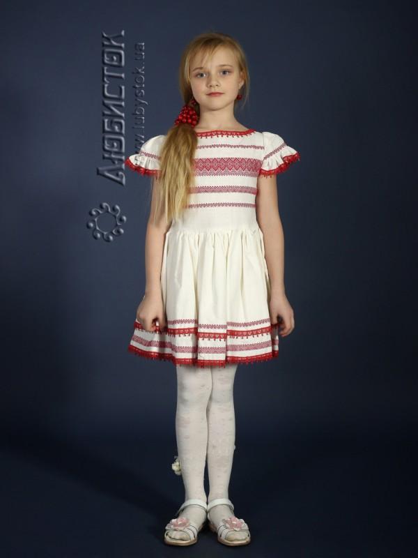 Вишита сукня для дівчинки ЖП 19-11