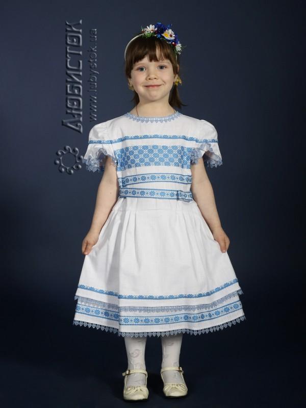 Вишита сукня для дівчинки ЖП 19-32