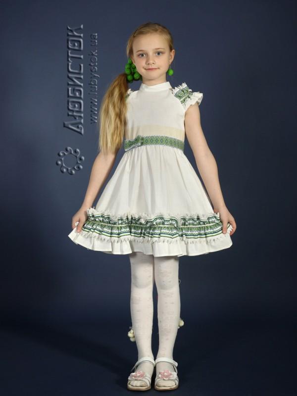 Вишита сукня для дівчинки ЖП 20-15