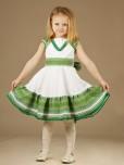 Вишита сукня для дівчинки ЖП 21-15