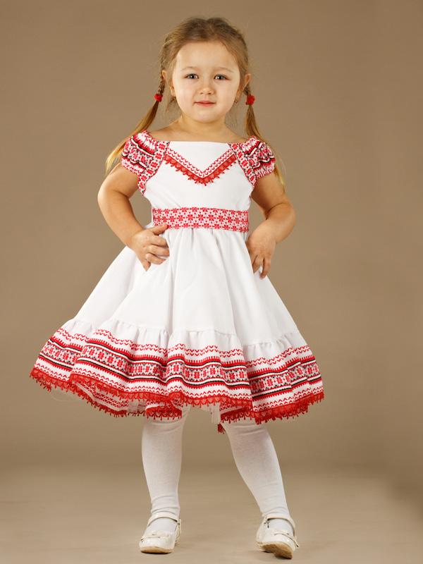 Вишиті плаття для дівчаток - дитячі вишиті сукні купити 323f4f2bcb34d