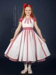Вишита сукня для дівчинки ЖП 35-37