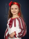 Вишита сукня для дівчинки ЖП 77-78