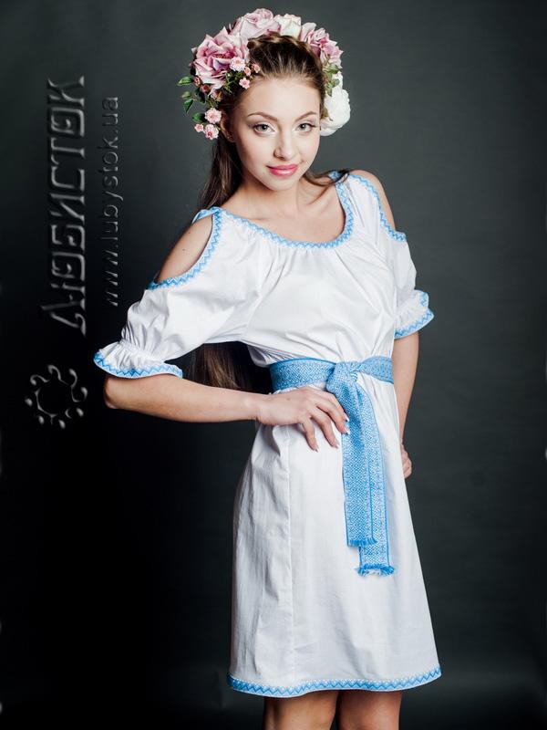 Вишита сукня ЖП 43-55