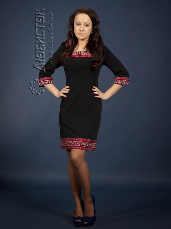 Вишита сукня ЖП 68-73