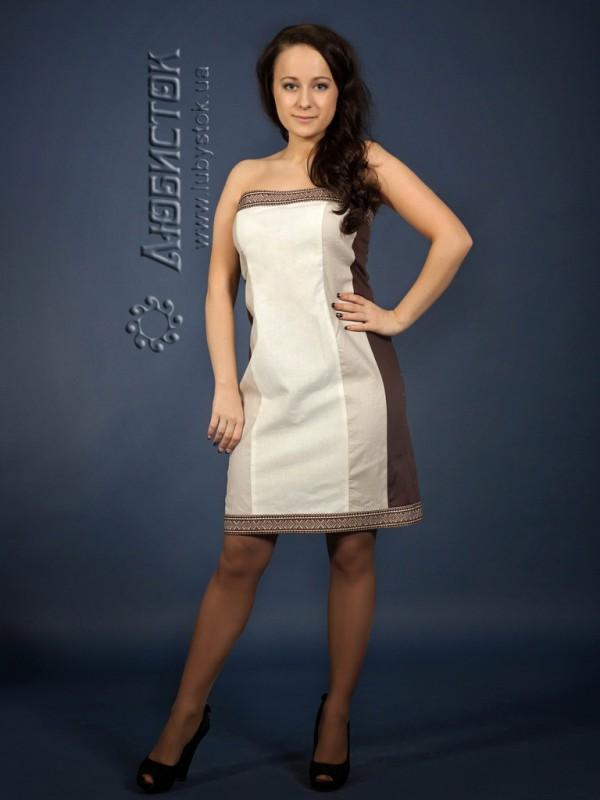 Вишита сукня ЖП 70-14