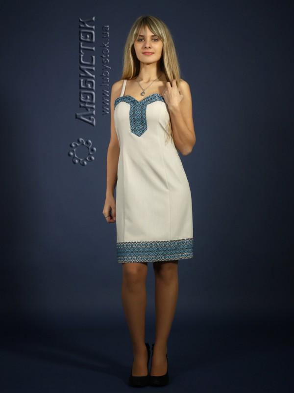 Вишита сукня ЖП 74-30