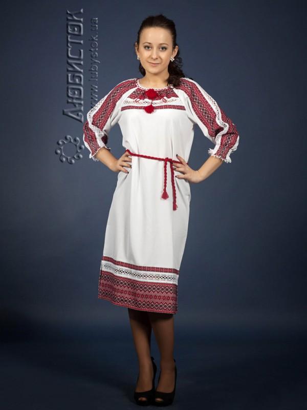 Вишита сукня ЖП 75-57