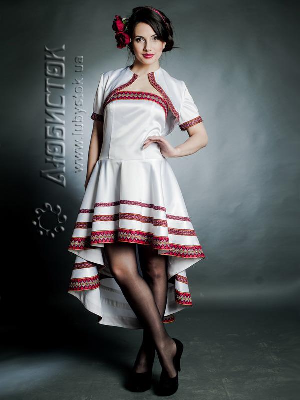 Вишитий жіночий костюм ЖК 67-44 - плаття та болеро купити b7dfbf81e9c21