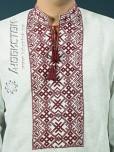 Вишита сорочка хрестиком ЧСВ 1-2