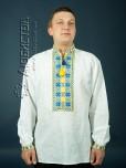 Вишита сорочка хрестиком ЧСВ 4-5