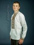 Вишита сорочка хрестиком ЧСВ 4-7