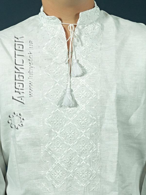 ... Вишита сорочка білим по білому ЧСВ 6-1L ... 5e8263ab278b7