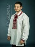 Вишита сорочка хрестиком ЧСВ 9-1L