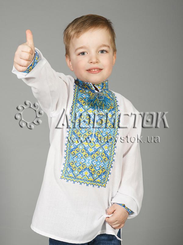 Вишиванка хрестиком з геометричним орнаментом ЧСВ 29-7-Д - купити 39a21c95e2e30