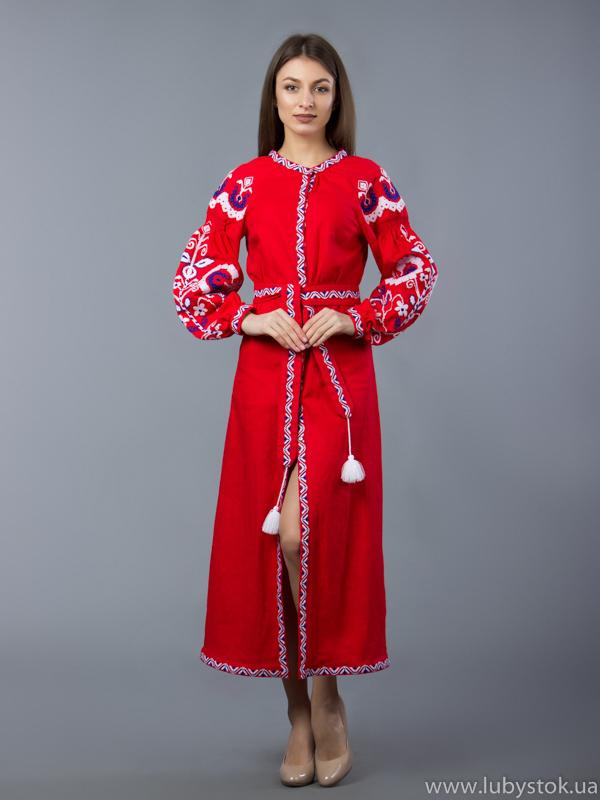 Вишиті плаття 63b8b4504c54b